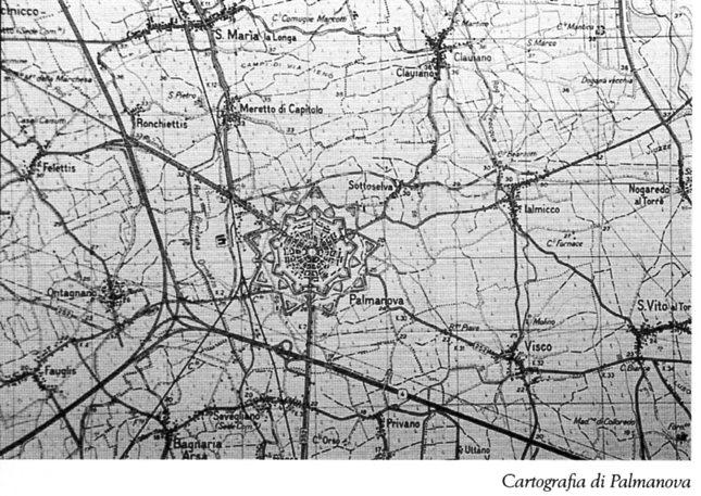 Cartografia di Palmanova